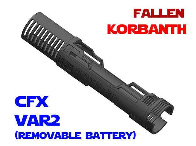 Korbanth - Fallen - Var2 - CFX in White Natural Versatile Plastic