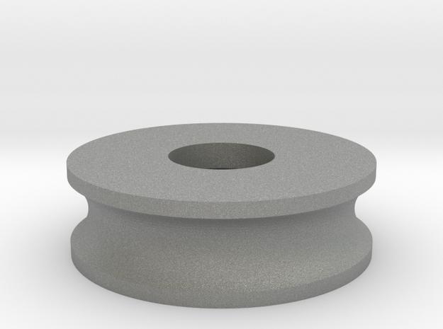 70mm Wheel-16_5mm Nut in Gray PA12