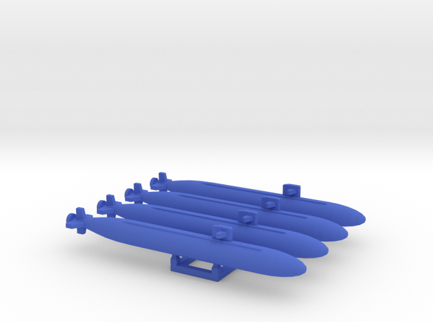 """Unknown"" BLUE SUB MARKER set in Blue Processed Versatile Plastic"
