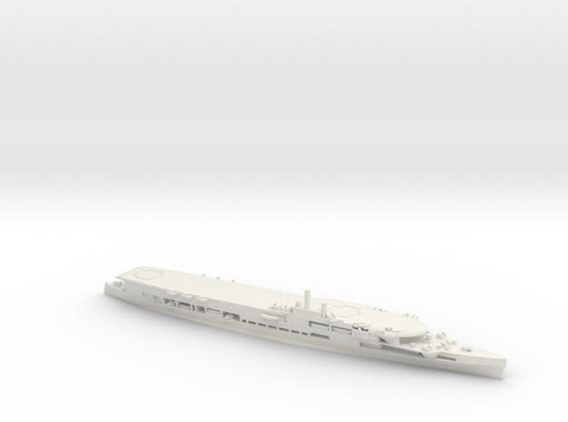 HMS Furious (47) in White Natural Versatile Plastic: 1:600
