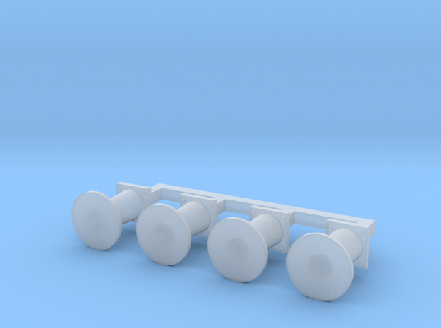 OO Scale NWR #6 Buffers in Smoothest Fine Detail Plastic
