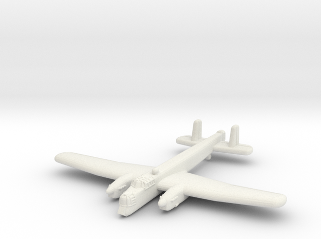 Armstrong Whitworth Whitley (1/285) in White Natural Versatile Plastic