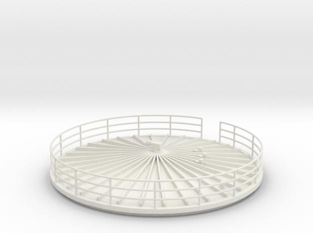 Fermentation Top - 1-50 scale in White Natural Versatile Plastic