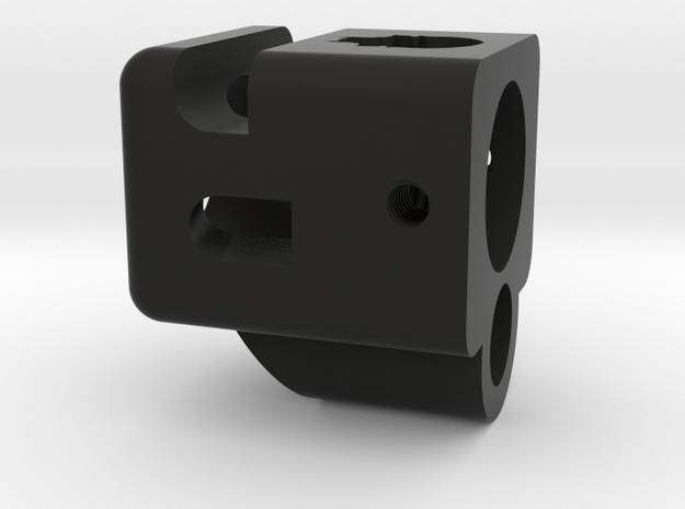 Deranged glock 19 compensator 14mm positive in Black Natural Versatile Plastic