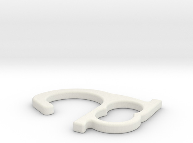 Touchless Door Opener by N3D in White Natural Versatile Plastic