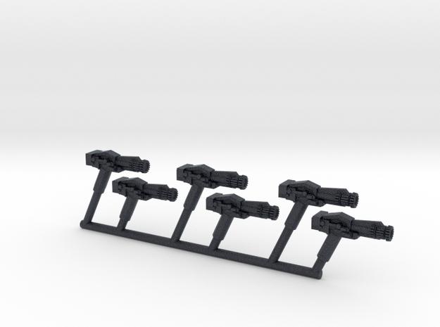 BSG Colonial Blaster 1:18 Figure Scale in Black PA12: Medium