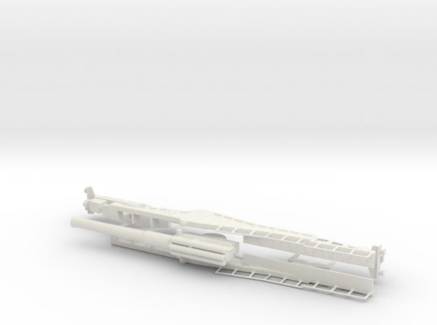 Vickers bl 12 inch Mk 2 mounting railway gun Mk IX