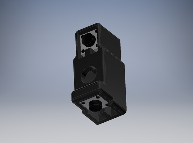 Pariah V3 Chassis - Switch Inlay in Black Natural Versatile Plastic