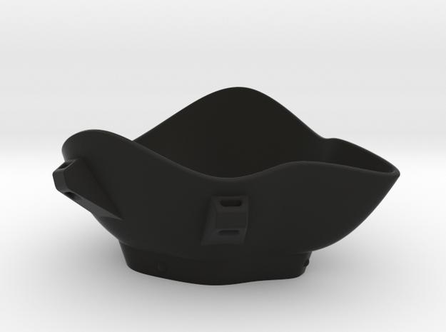 Corona Mask in Black Natural Versatile Plastic