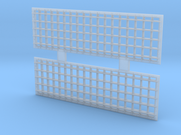 S Scale 1:64 EMD GP 40 Radiator Grill Front 1 pair in Smoothest Fine Detail Plastic