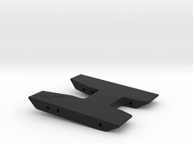 Pneuma Blank Skid in Black Natural Versatile Plastic