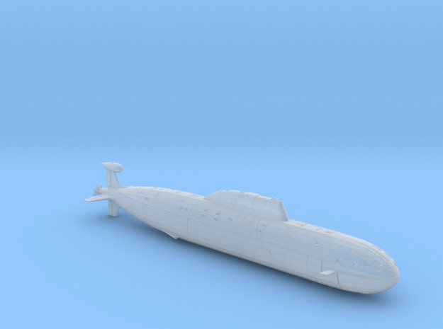 AKULA in Smooth Fine Detail Plastic