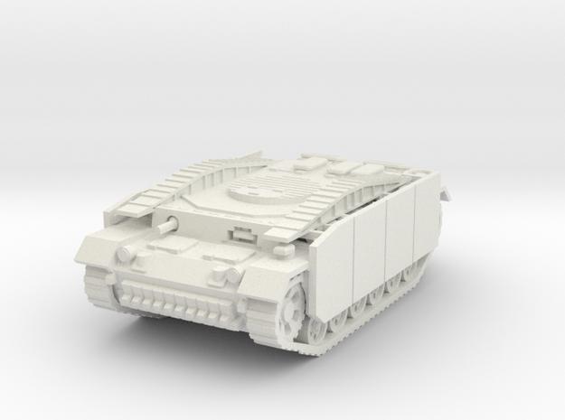 Pionierpanzer III (Schurzen)  1/56 in White Natural Versatile Plastic