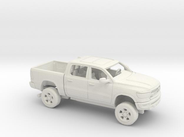 1/50  2020 Dodge Ram 1500 Short Bed in White Natural Versatile Plastic