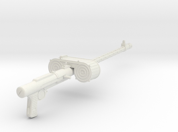 MG15 in 1:9  in White Natural Versatile Plastic