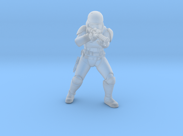 sovereign trooper_01 in Smooth Fine Detail Plastic