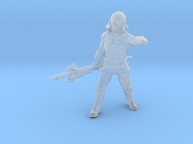agent kaisar  in Smooth Fine Detail Plastic