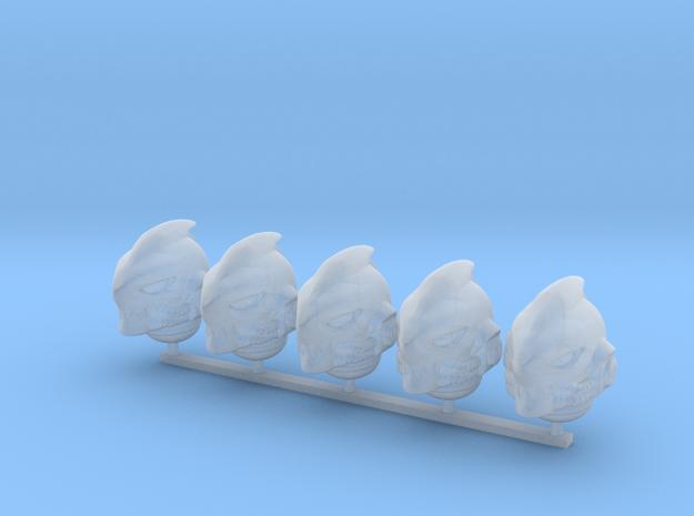 mk-sharkhelm-b x5 in Smooth Fine Detail Plastic