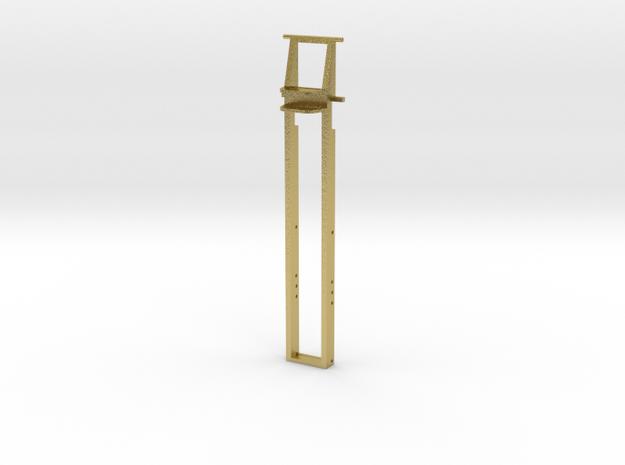 3-Achs Rahmen Arocs 0,8er Bohrung // Mikroengineer in Natural Brass