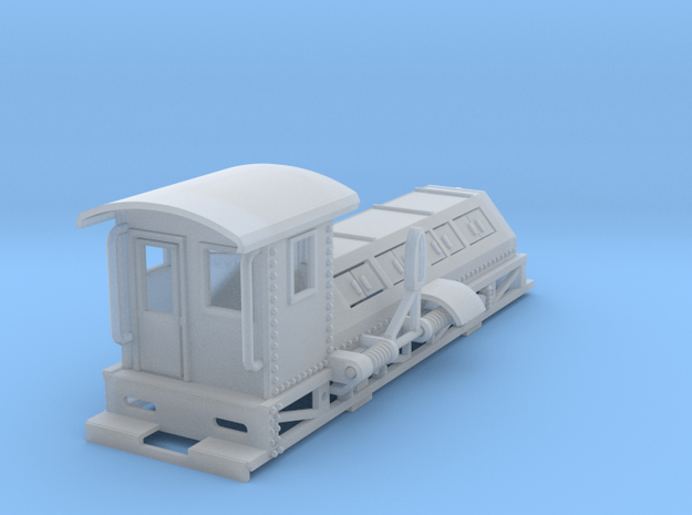 shunter new revised HO scale in Smooth Fine Detail Plastic
