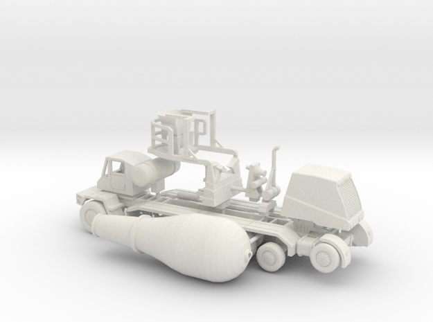 1/64 OshKosh Cement Mixer in White Natural Versatile Plastic
