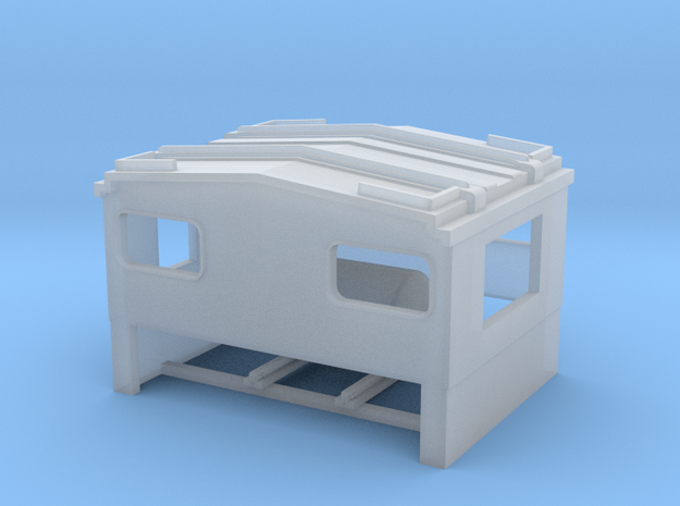 Athearn wide vision caboose replacement cupola w/  in Smooth Fine Detail Plastic