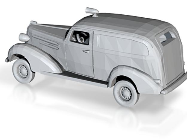 1/87 1936 Chevrolet Panel Police Kit in Smooth Fine Detail Plastic