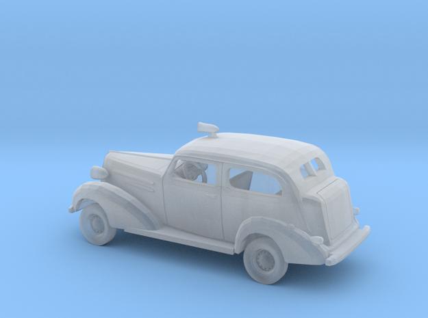 1/87 1936 Chevrolet 2Door Sedan Police Kit in Smooth Fine Detail Plastic