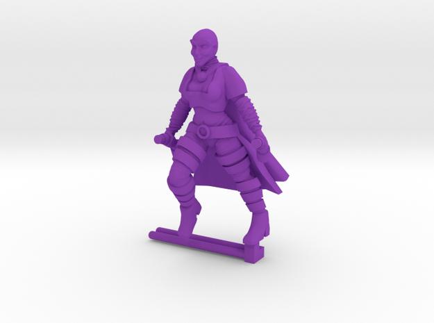 Huntress Shapeways in Purple Processed Versatile Plastic