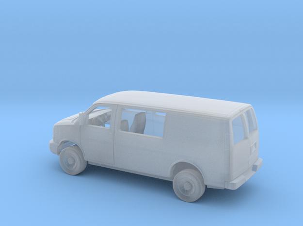 1/87 2003-Present Chevrolet Express Semi Panel Van in Smooth Fine Detail Plastic