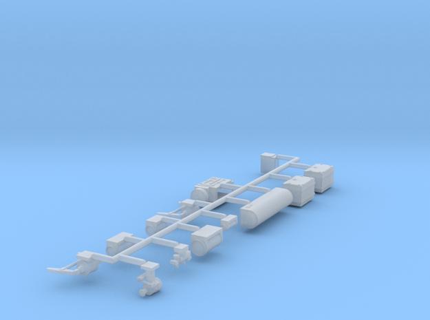 Pullman Underframe (Mechanical AC) in Smooth Fine Detail Plastic