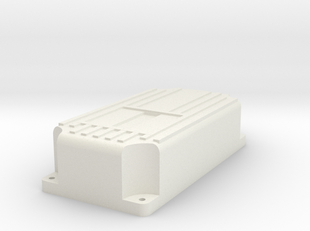 MSD like Ignition Module 1:10 scale in White Natural Versatile Plastic