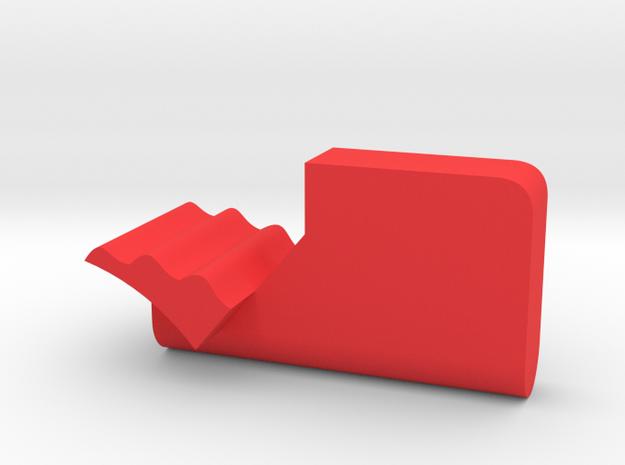 Warthog throttle part - triple detent in Red Processed Versatile Plastic