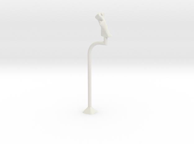 MK1 Cyclic stick in White Natural Versatile Plastic
