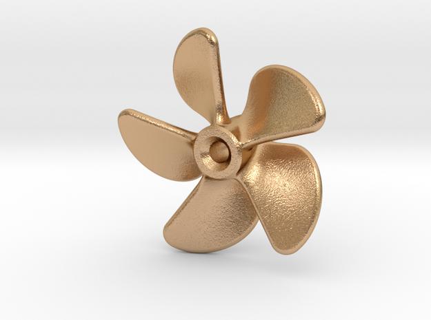 Propeller 22mm (LH) in Natural Bronze