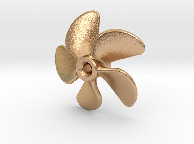 Propeller 22mm (RH) in Natural Bronze