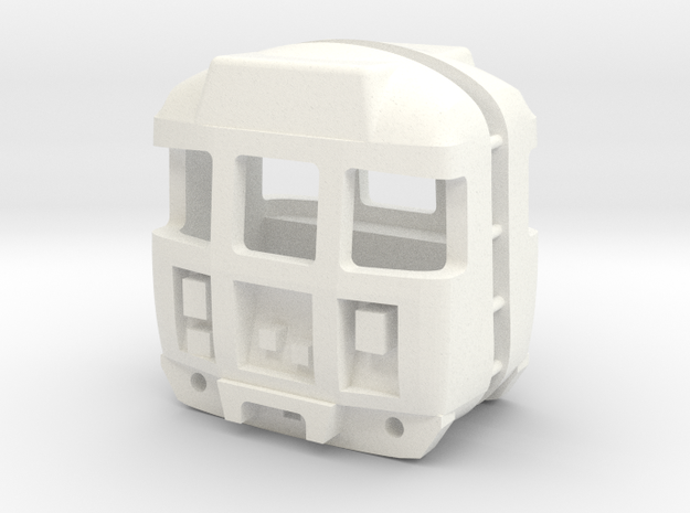 3mm Scale Class 310 Cab in White Processed Versatile Plastic