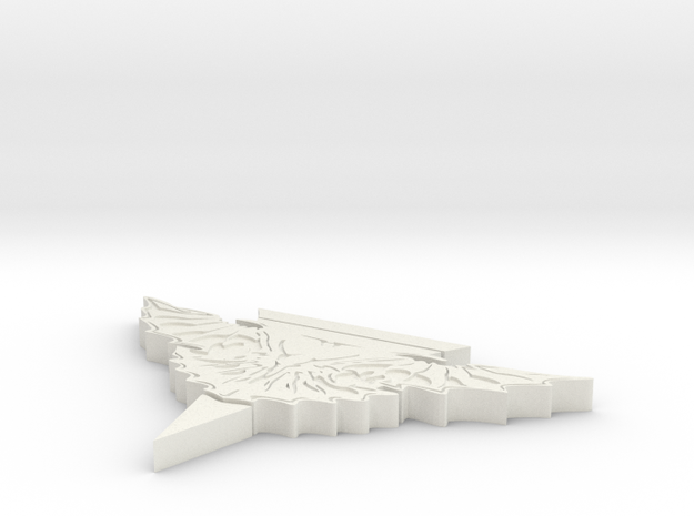 Romulan Stand in White Natural Versatile Plastic