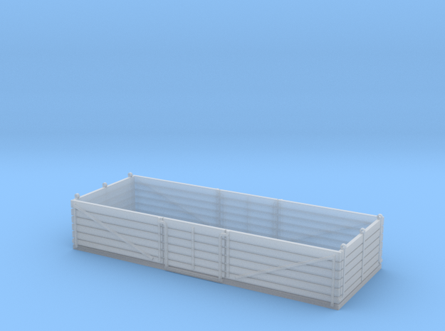 L&Y 6 plank fruit open wagon in Smooth Fine Detail Plastic