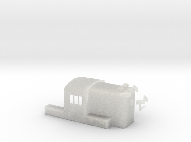 N Scale PRR RS3 Hammer Head in Smooth Fine Detail Plastic