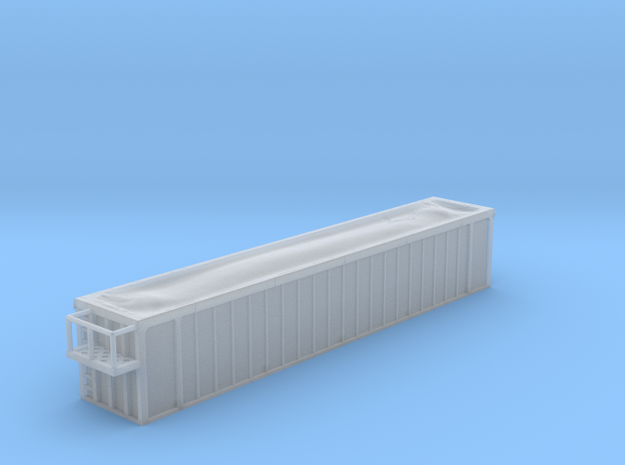 Trash Container - Joke - Nscale in Smooth Fine Detail Plastic