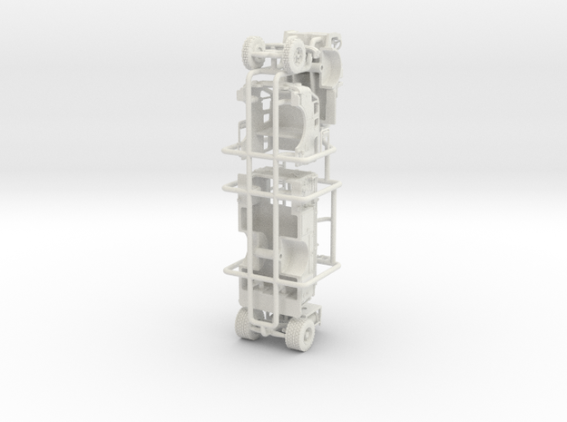 1/64 1968 IH/FTI ENGINE in White Natural Versatile Plastic
