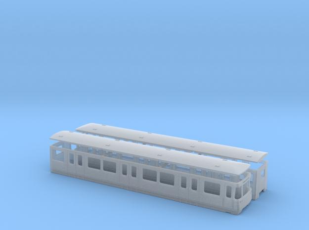 U-Bahn Wien U in Smooth Fine Detail Plastic: 1:120 - TT
