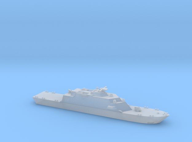 USS Freedom 1:1250 in Smooth Fine Detail Plastic: 1:1250