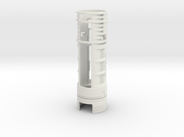 """Custom Request - ALL.IN.ONE - 1.24""""OD - Lightsaber in White Natural Versatile Plastic"""