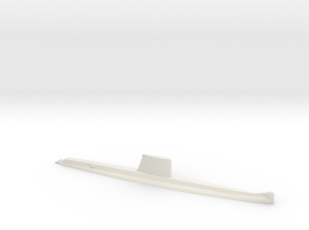 Daphné 1:1250 in White Natural Versatile Plastic
