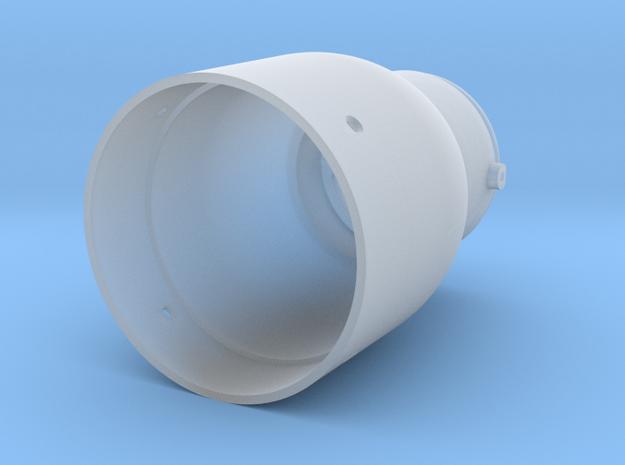 Fl 23334 Rear Casing in Smooth Fine Detail Plastic