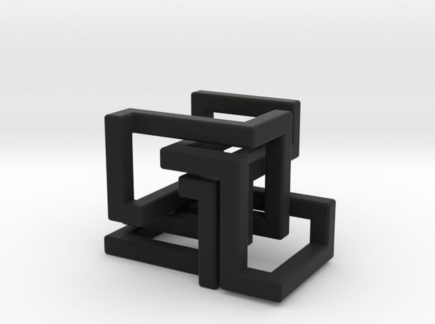 Dutch Rings 3d printed