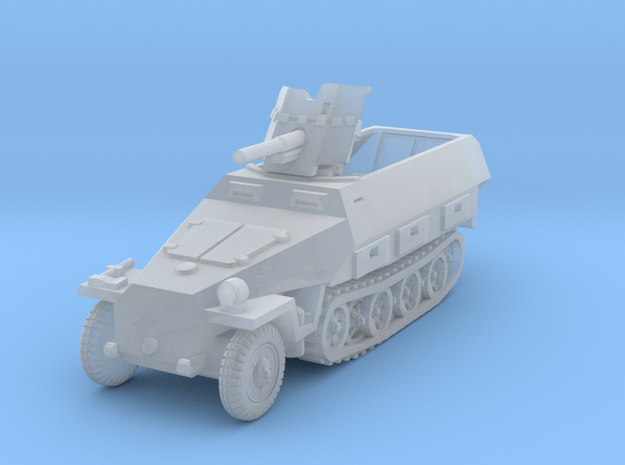 Sdkfz 251/10 D Pak 36 1/200 in Smooth Fine Detail Plastic