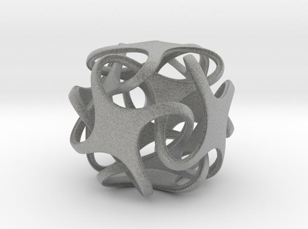 Hexatron Pendant 3d printed